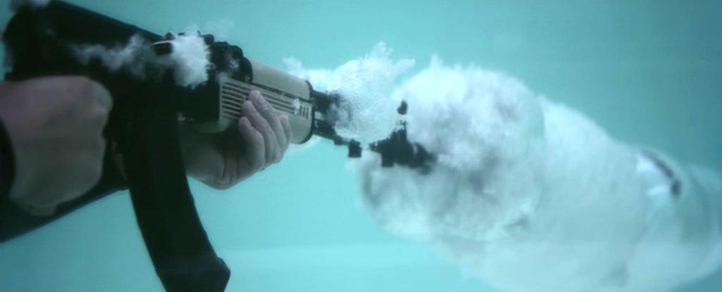 Underwater AK-47